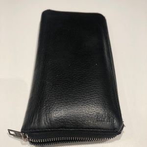 Men's Hugo boss large leather wallet